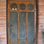 Stout House screen door detail