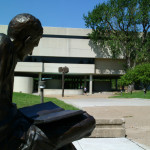 Geisler Library outside